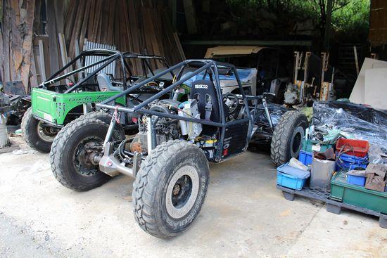 K6Aエンジン搭載のロッククローリングマシン